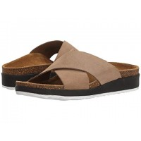 Women Aetrex Dawn Sandals Soft synthetic lining for added comfort Taupe 8824689 JFYWFWG