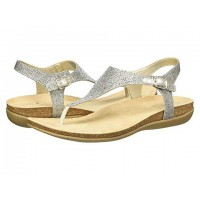Women Bandolino Hereby Sandals Soft synthetic lining for added comfort Gold Glamour Material 9035469 AUICAYU
