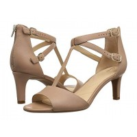 Women Clarks Laureti Pearl Sandals Soft synthetic lining for added comfort Beige Leather 8992036 FZIKKCX