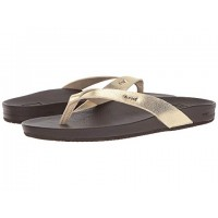 Women Reef Cushion Bounce Court Sandals Soft synthetic lining for added comfort Champagne 8981074 GERZZLO