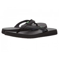 Women Sanuk Yoga Mat 2 Sandals Soft synthetic lining for added comfort Black 8986064 AICVPAE