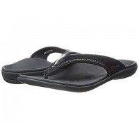 Women Spenco Yumi Sandals Soft synthetic lining for added comfort Black 7777897 HGAMLHO