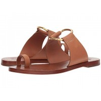 Women Tory Burch Brannan Studded Sandal Sandals Soft synthetic lining for added comfort Tan 9125287 XCOENLQ