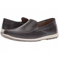 Men ECCO Dip Moc Sandals Soft synthetic lining for added comfort Moonless 9006542 SQSQHNU