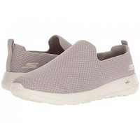 Men SKECHERS Performance Go Walk Max Rejoice Sandals Soft synthetic lining for added comfort Taupe 9102133 ENRQTDH