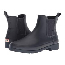Women Hunter Original Refined Chelsea Boots Soft synthetic lining for added comfort Navy 8818405 AQVEQEI