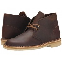 Men Clarks Desert Boot Sandals Soft synthetic lining for added comfort Beeswax Leather 105990 DZHLKTX
