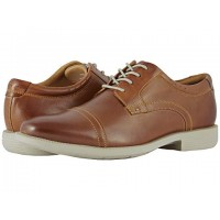 Men Nunn Bush Dixon Cap Toe Oxford with KORE Walking Comfort Technology Sandals Soft synthetic lining for added comfort Cognac Multi 8963751 VMQMIDR