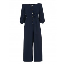Whistles Carina Off Shoulder Jumpsuit Polyester100% Model`s Height 5`10/178cm D911882 TPMUUHI